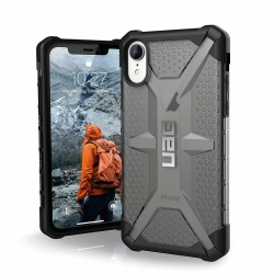 iPhone XR Case UAG Plasma Series Cover - Ash