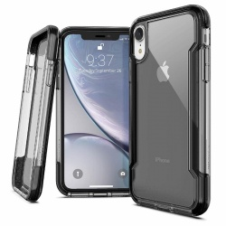 iPhone XR Case X-Doria Clear Series - Black