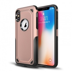 Apple iPhone XS Max Protective Hybrid Shockproof Case| RoseGold