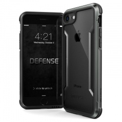iPhone 7 / iPhone 8 Case X-Doria Defence Shield- Black