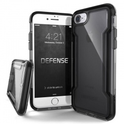 iPhone 7 / iPhone 8 Case X-Doria Defence Clear- Black