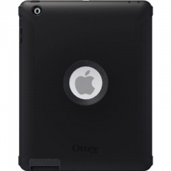 iPad 2/3/4 OtterBox Defender Series Case Black