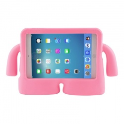 iPad 10.2 Inch 2019 / iPad 10.5 inch Case for Kids Shock Proof Cover with Carry Handle Babypink