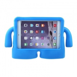 iPad Mini 1/2/3/4 Case for Kids Drop-proof Shockproof Cover Case with Kickstand Kids Case Blue
