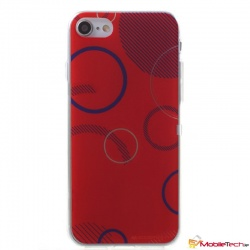 iPhone 7 / iPhone 8 Case Goospery Da Vinci Jelly Red
