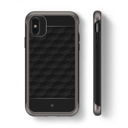 iPhone X Case Caseology  Parallax Series Case - Black / Warm Gray
