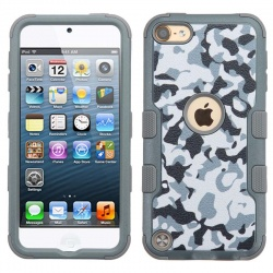 iPod Touch (6th Generation) MYBAT TUFF Hybrid Protector Cover Urban Camouflage/Iron Gray