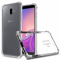Samsung Galaxy J6 Plus 2018 Super Protect Anti Knock Clear Case