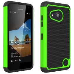 Nokia Lumia 550 Shockproof Case Green