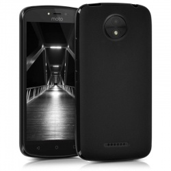Motorola C Plus Silicon Case Black