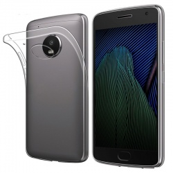 Motorola C Plus Silicon Case Clear