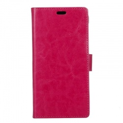 Motorola G4 Play PU Leather Wallet Case Pink