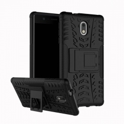 Nokia 3 Tyre Defender Cover Black