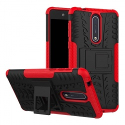 Nokia 8 Tyre Defender Cover Red
