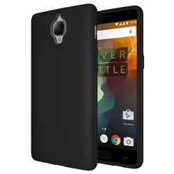 OnePlus 3  Silicon Cover Black