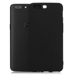 OnePlus 5  Silicon Cover Black