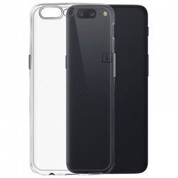 OnePlus 5  Silicon Cover Clear
