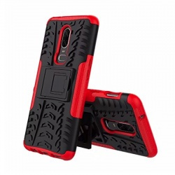 OnePlus 6 Tyre Defender Cover Red