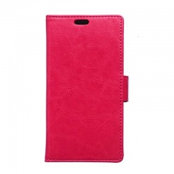 OnePlus X PU Leather Wallet Case Pink