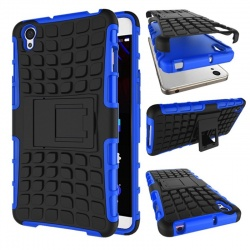 OnePlus X Tyre Defender Cover Blue