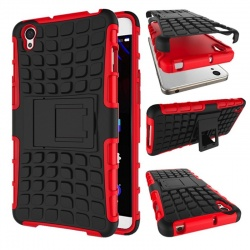 OnePlus X Tyre Defender Cover Red
