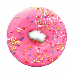 Pink Donut Pop Socket