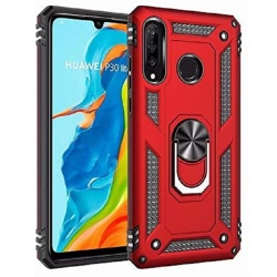 Huawei P Smart Z Case - Red Ring Armor