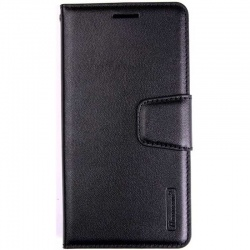 Samsung Galaxy S10 Plus Wallet Case Hanman Black