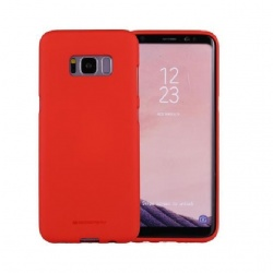 Samsung Galaxy S8 Soft Feeling Case Red