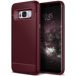 Samsung Galaxy S8  Plus Caseology Vault II Series Case - Burgundy