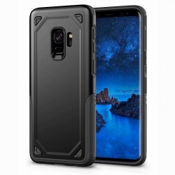Samsung Galaxy J6 2018 Protective Hybrid Shockproof Case| Black