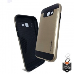 Samsung Galaxy A5(2017)  Shockproof Dual Layered Back Case Gold