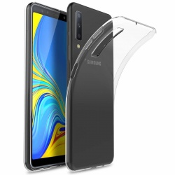 Samsung Galaxy A7 (2018) Silicon Clear TPU Case