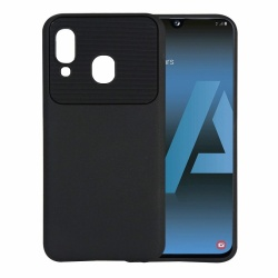 Samsung Galaxy A20 / A30 Silicon Black TPU Case