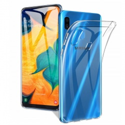 Samsung Galaxy A20 / A30 Silicon Clear TPU Case