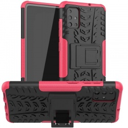 Samsung Galaxy A12 Case - Hot Pink Tyre Defender
