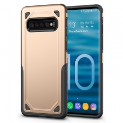 Samsung Galaxy S10 Plus Armor Case Gold