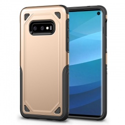 Samsung Galaxy S10e Armor Case Gold