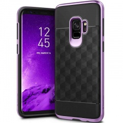 Samsung Galaxy S9 Caseology Parallax Series Cover Black Violet