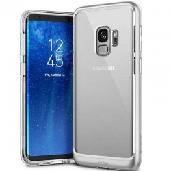 Samsung Galaxy S9 Caseology Skyfall Series Cover Silver