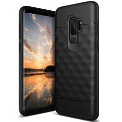 Samsung Galaxy S9 Plus Caseology Parallax Cover Black