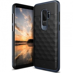 Samsung Galaxy S9 Plus Caseology Parallax Cover Black DeepBlue