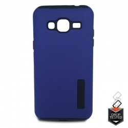 Samsung Galaxy J3(2016) Dual Layer Case Blue