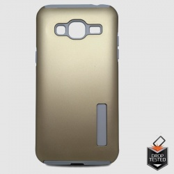 Samsung Galaxy J3(2016) Dual Layer Case Gold