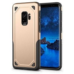 Samsung Galaxy J6 2018 Protective Hybrid Shockproof Case| Gold