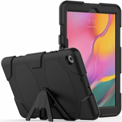 Samsung Galaxy Tab A Case 10.1(2019) SM-T510 Shockproof Cover With Kickstand | Black