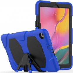 Samsung Galaxy Tab A-8.0 (2019) SM-T290 Shockproof Cover With Kickstand | Blue