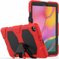 Samsung Galaxy Tab A-8.0 (2019) SM-T290 Shockproof Cover With Kickstand | Red