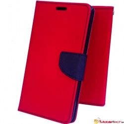 Samsung Galaxy Tab-A-7 Inch T280 / T285 Mercury Diary Case Red