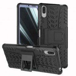 Sony Xperia L3 Tyre Defender Cover Black
